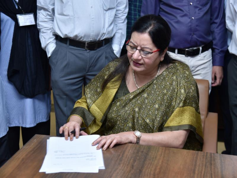 Image result for Najma Akhtar, Vice Chancellor of University of the Anglo-Arab School and Delhi College Old Boys Association
